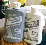 Meguiar's Plastic polish, cleaner