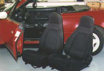 Seats, out of the car