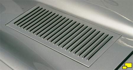 Early Jaguar E-Type  Welded Louvres