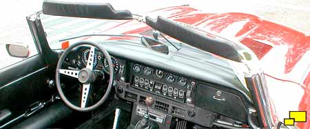 Jaguar E-Type Series III interior