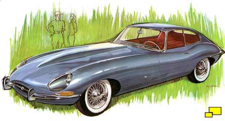 Jaguar E-Type 2+2 coupe