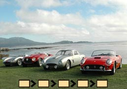 Pebble Beach Concours d'Elegance: From Italy